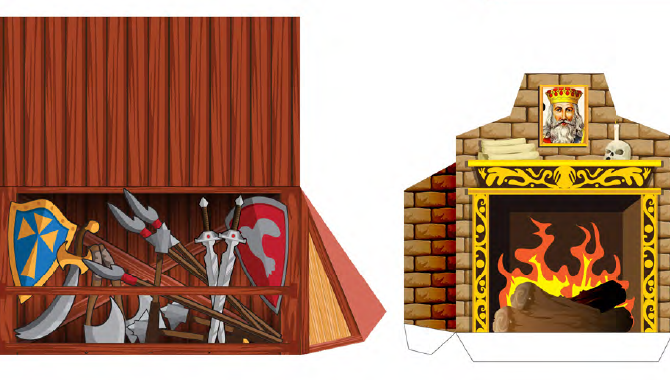 Paper Furniture del Set Base di Heroquest