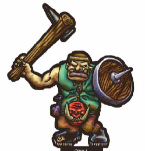 Paper Miniatures di Against the Ogre Horde